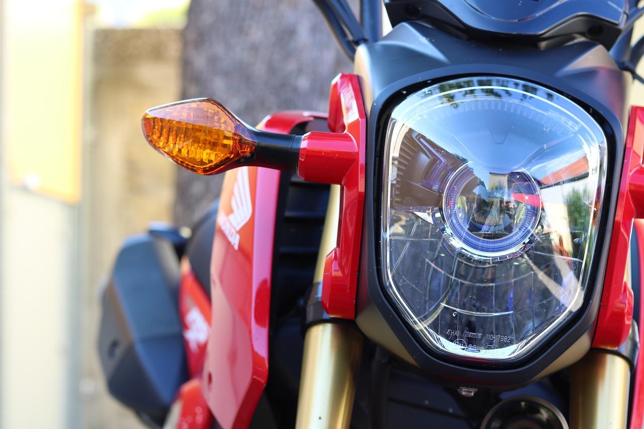 Kierunkowskazy motocykl